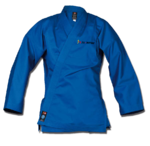 Element Jacke blau regular cut