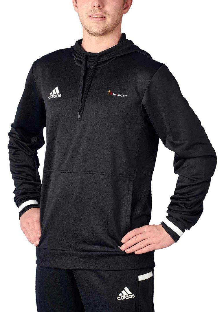 adidas T19 Hoodie Männer schwarzweiß