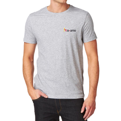 Basic T-Shirt grau