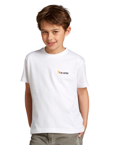 Basic T-Shirt Kids weiß