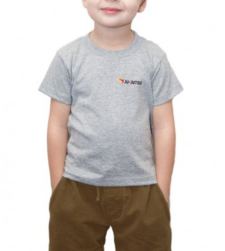 Basic T-Shirt Kids grau