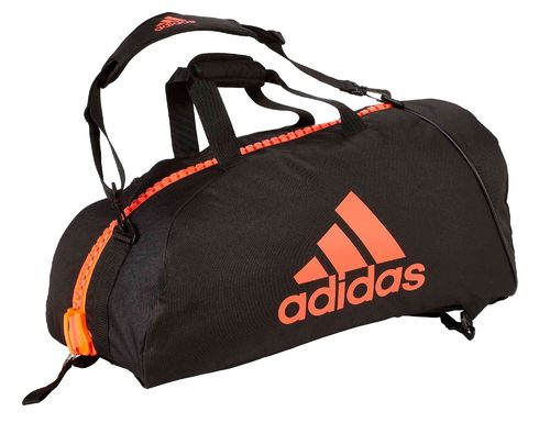 adidas 2in1 Bag - martial arts M - sw/rot