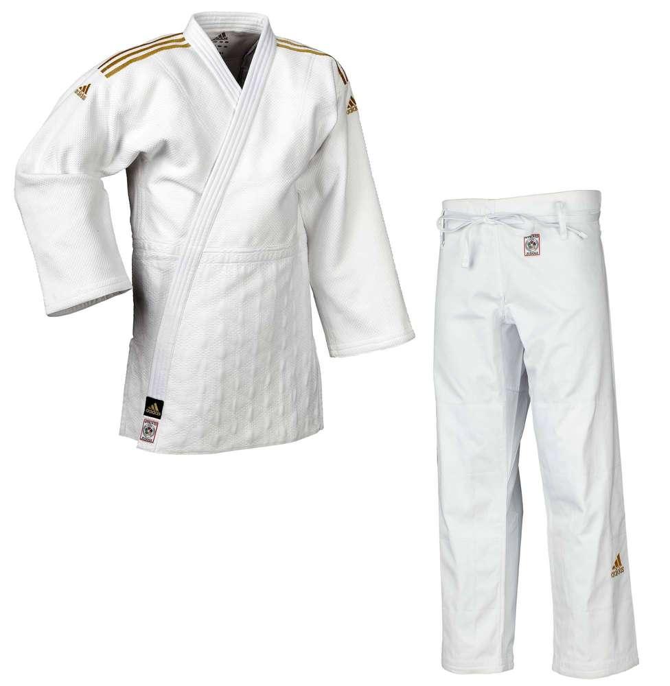 Adidas IJF Jutsu Ju Judo, (JIJF) weiß, in Judogi II Champion