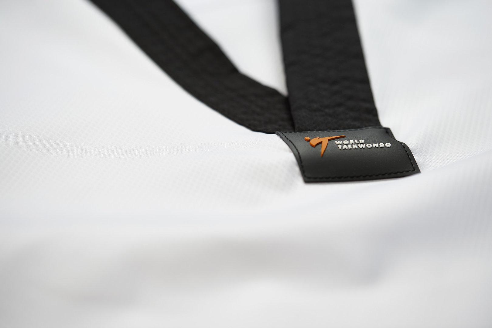 adidas Taekwondoanzug ADI FLEX schwarzes Revers Ju Jutsu Shop