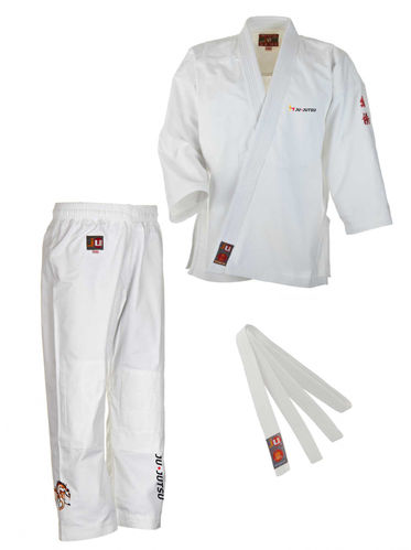 DJJV Basic Gi Kids weiß